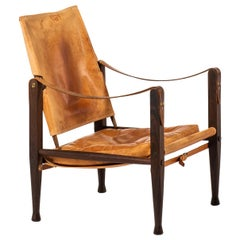Kaare Klint Safari Chair Produced by Rud Rasmussen in Denmark