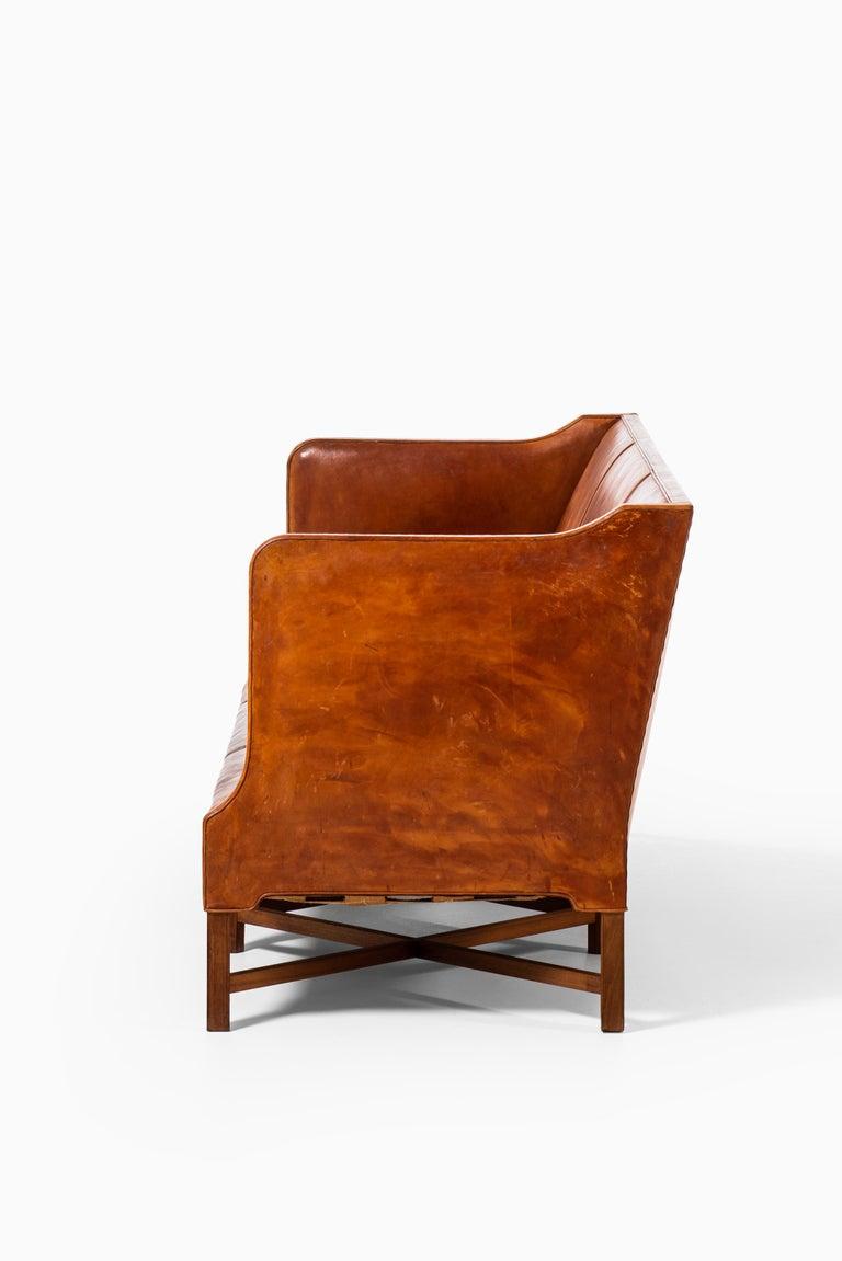 Kaare Klint Sofa Model No 4118 Produced by Rud. Rasmussen in Denmark For Sale 3