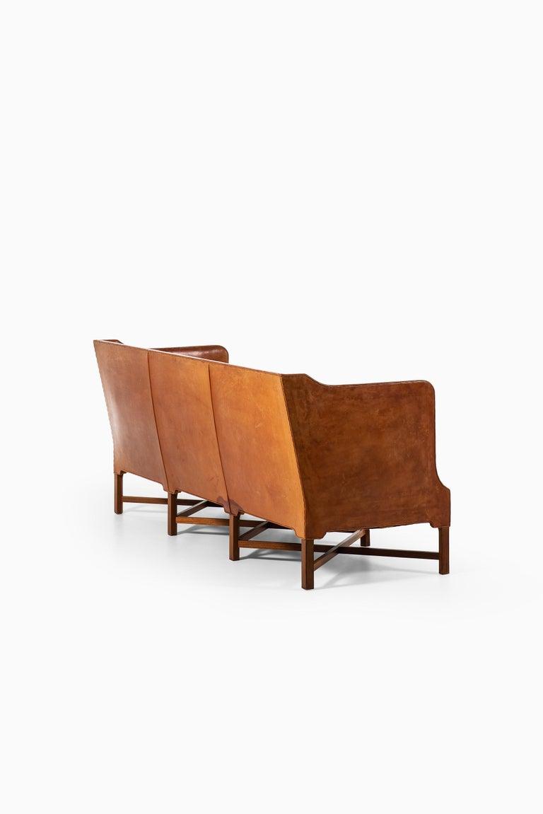 Kaare Klint Sofa Model No 4118 Produced by Rud. Rasmussen in Denmark For Sale 5