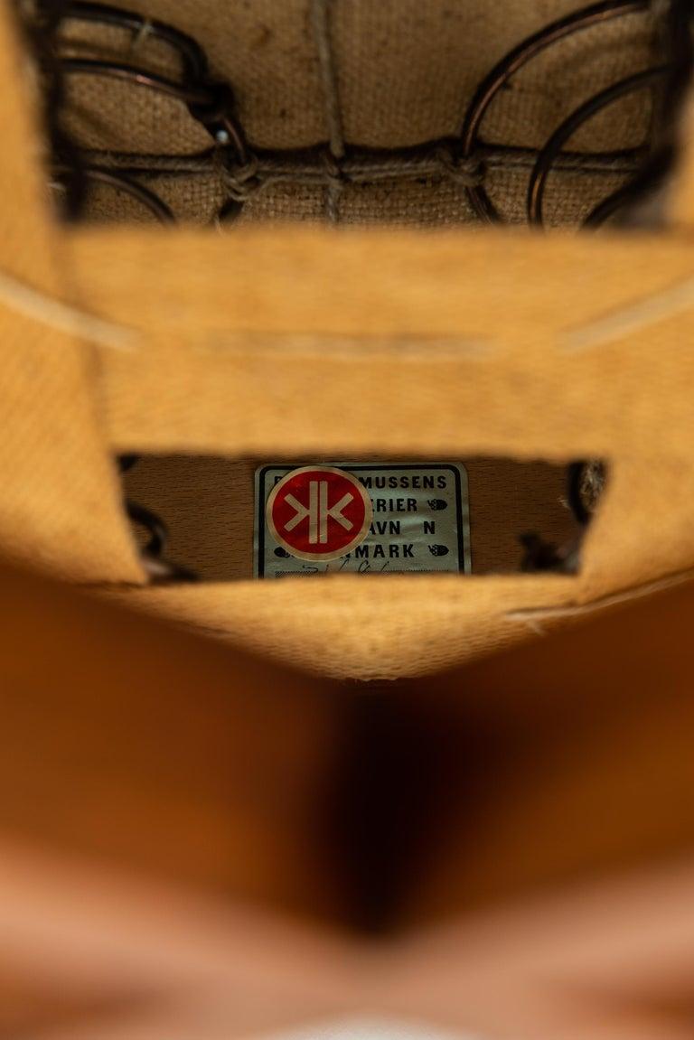 Kaare Klint Sofa Model No 4118 Produced by Rud. Rasmussen in Denmark For Sale 8