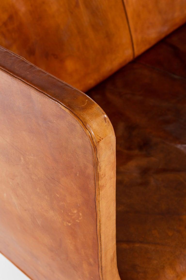 Scandinavian Modern Kaare Klint Sofa Model No 4118 Produced by Rud. Rasmussen in Denmark For Sale