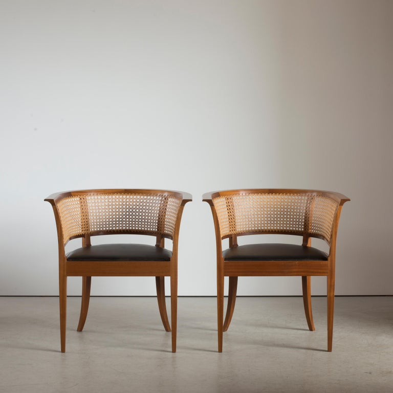 Danish Kaare Klint The Faaborg Chair of Mahogany For Sale