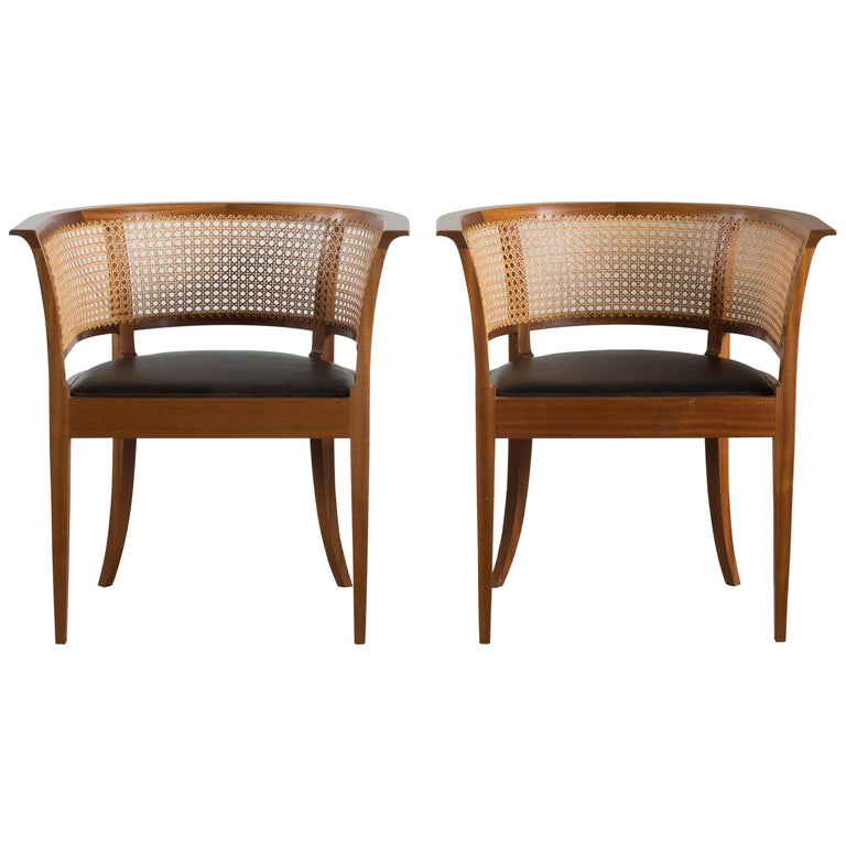 Kaare Klint The Faaborg Chair of Mahogany For Sale