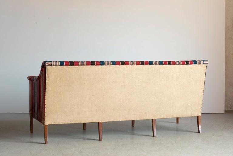 Danish Kaare Klint Three-Seat Sofa for Rud. Rasmussen For Sale