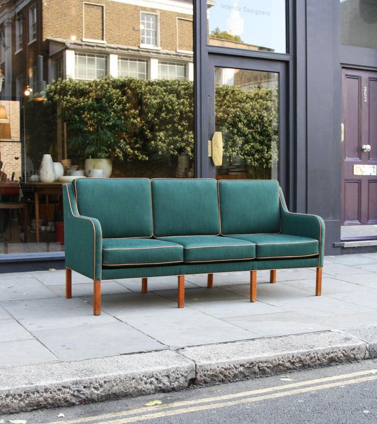 Kaare Klint Three-Seat Sofa For Sale 3