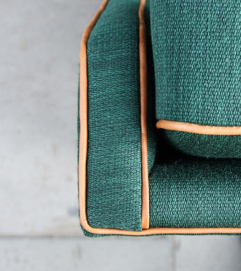Scandinavian Modern Kaare Klint Three-Seat Sofa For Sale