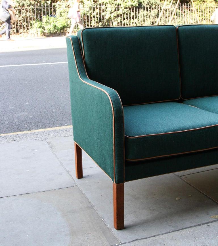 Danish Kaare Klint Three-Seat Sofa For Sale