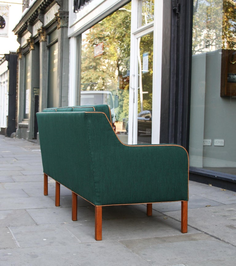 Kaare Klint Three-Seat Sofa In Excellent Condition For Sale In London, GB