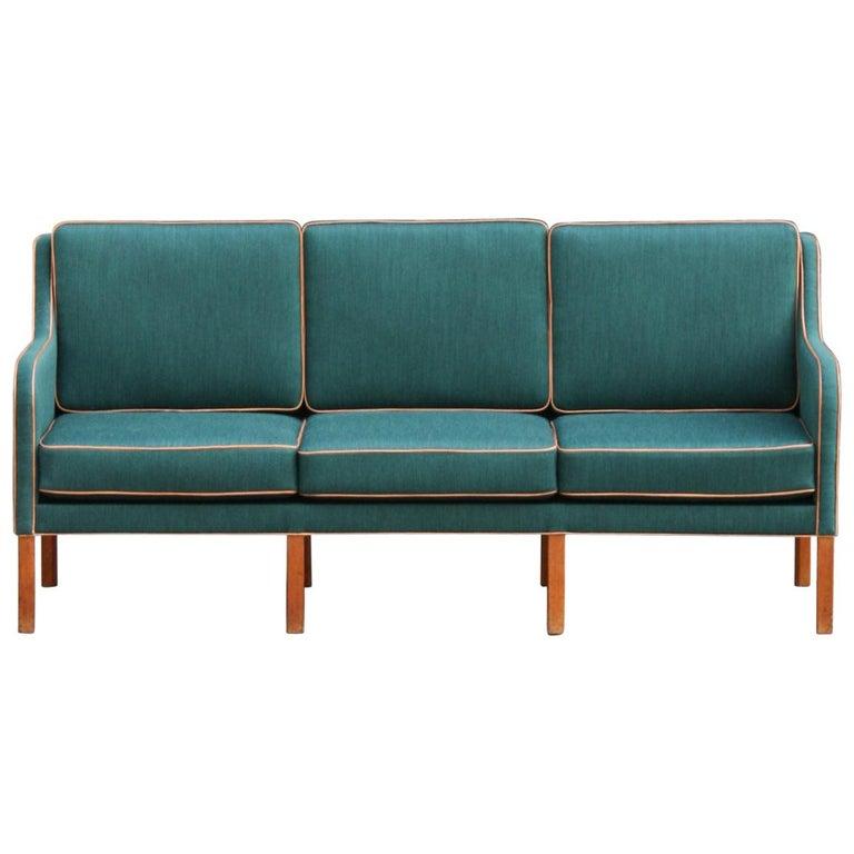 Kaare Klint Three-Seat Sofa For Sale