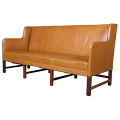Kaare Klint Three-Seat Sofa Model 5011