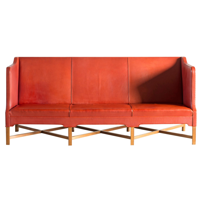 Kaare Klint Three-Seat Sofa for Rud. Rasmussen
