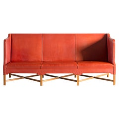 Kaare Klint Three-Seat Sofa for Rud. Rasmussen