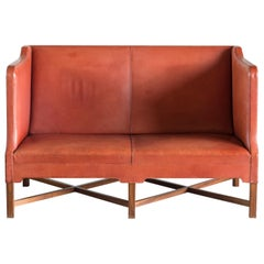 Kaare Klint Two-Seat Sofa for Rud. Rasmussen