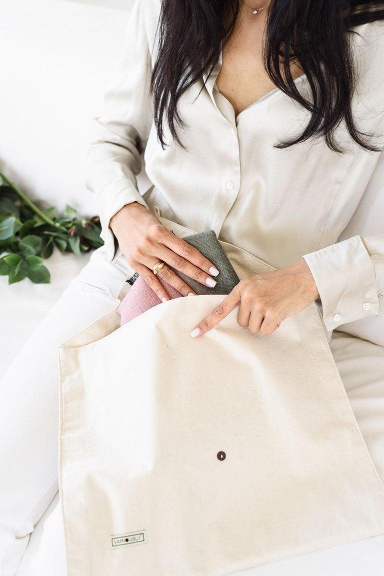 Hand-Woven Kaavi Silk Shibori  Scarf / Wrap  For Sale
