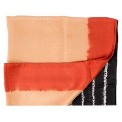 Kaavi Silk Shibori  Scarf / Wrap