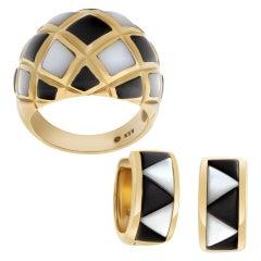 Kabana Earring and Ring Set