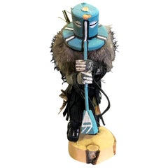 Kachina Doll Hand Carved Decorated Signed by Artist
