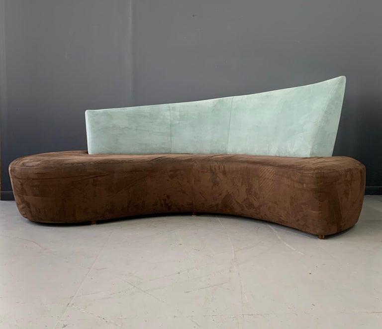 Post-Modern Postmodern Curved sofa For Sale