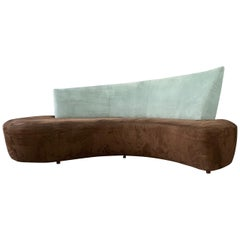 Postmodern Curved sofa