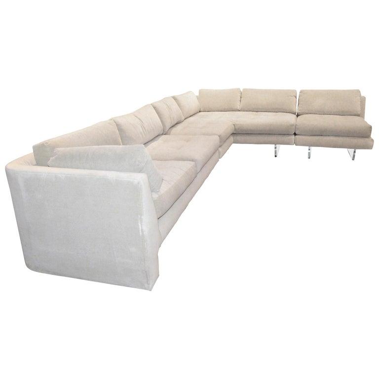Vladimir Kagan Omnibus sectional sofa, 1960–70, offered by MrsPK&OZ Vintage 20th Century Modern