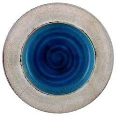Kähler, Denmark, Glazed Stoneware Dish from 1960s, Designed by Nils Kähler