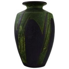 Kähler, Denmark, Vase in Glazed Ceramics, 1930s-1940s