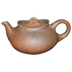 Kahler HAC Brown Bisque Teapot 50's Denmark