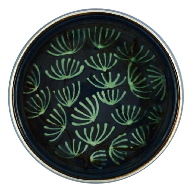 Kähler, HAK, Glazed Ceramic Dish in Modern Design, 1930s-1940s