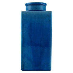 Kähler, HAK, Large Glazed Ceramic Vase in Modern Design, 1960s-1970s
