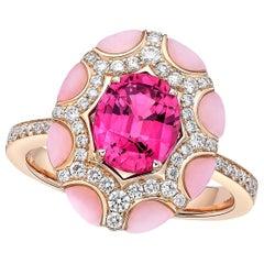 Kahn 1.92 Carat Pink Sapphire Ring