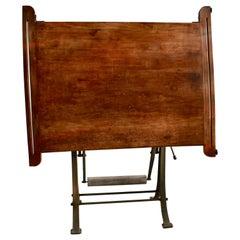 Kahn Freres Maple Drafting Table, circa 1930