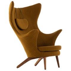 Kai Bruun Easy Chair Model Siesta Produced by Sesam Møbler in Denmark