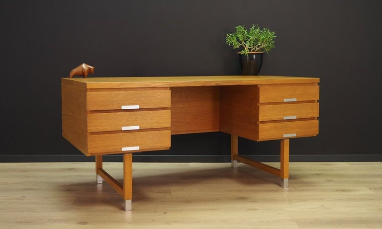 Mid-Century Modern Kai Kristianesn Writing Desk Vintage, 1960-1970 For Sale