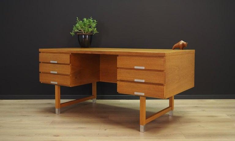 Scandinavian Kai Kristianesn Writing Desk Vintage, 1960-1970 For Sale
