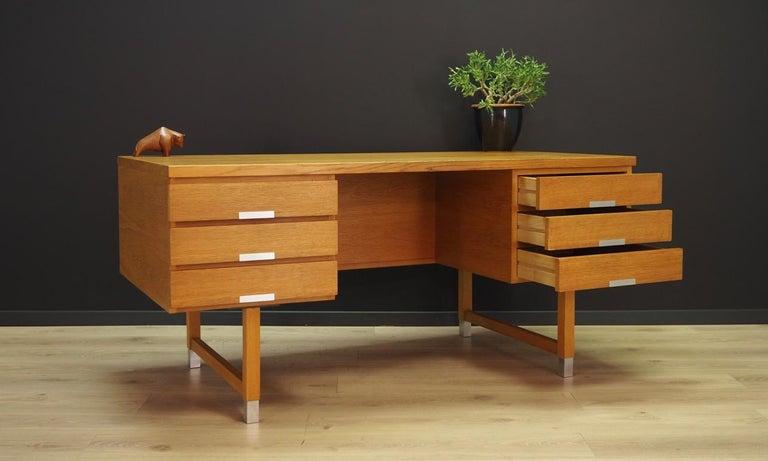 Kai Kristianesn Writing Desk Vintage, 1960-1970 In Good Condition For Sale In Okunica, Zachodniopomorskie