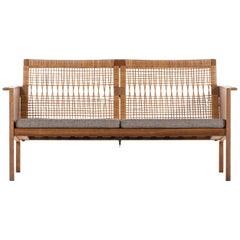 Kai Kristiansen 2-seat sofa by Christian Jensen møbelfabrik in Denmark