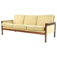 Kai Kristiansen 3-Seat Danish Rosewood Sofa