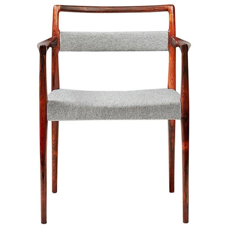Kai Kristiansen Vintage Armchair For Sale