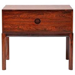 Kai Kristiansen Bedside Cabinet, Rosewood