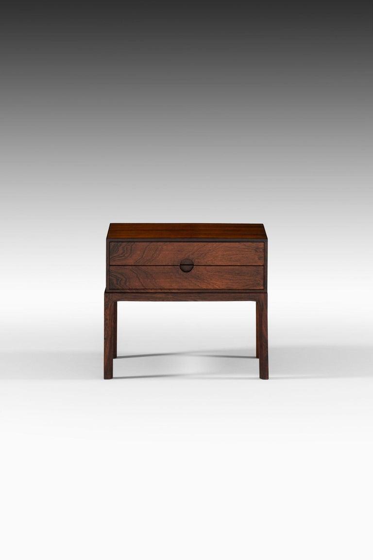 Bureau / side table model 384 designed by Kai Kristiansen. Produced by Aksel Kjersgaard in Denmark.