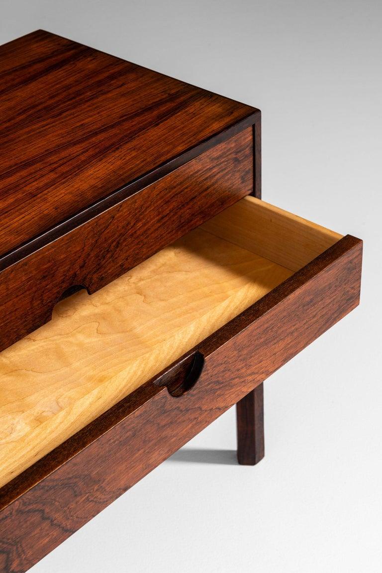 Rosewood Kai Kristiansen Bureau / Side Table Model 384 by Aksel Kjersgaard in Denmark For Sale