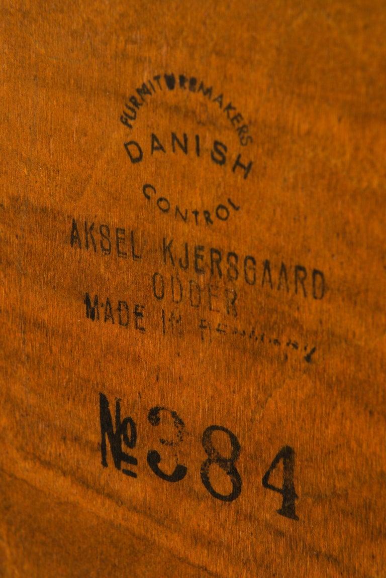 Kai Kristiansen Bureau / Side Table Model 384 by Aksel Kjersgaard in Denmark For Sale 1