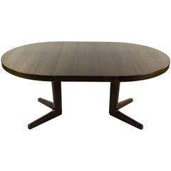 Kai Kristiansen Danish Midcentury Oak Dining Table