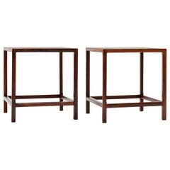 Kai Kristiansen Danish Solid Rosewood Tables by Aksel Kjersgaard