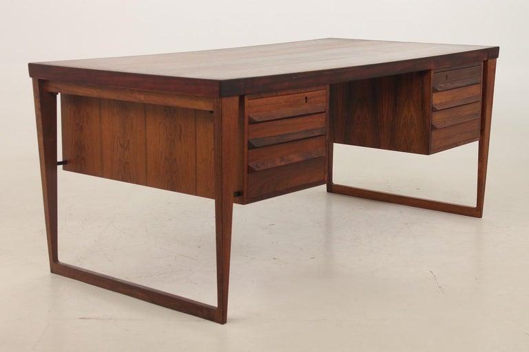 Kai Kristiansen Desk from the 1960´s In Good Condition For Sale In Copenhagen, DK