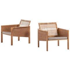 Kai Kristiansen Easy Chairs Model 150 by Christian Jensen Møbelsnedkeri