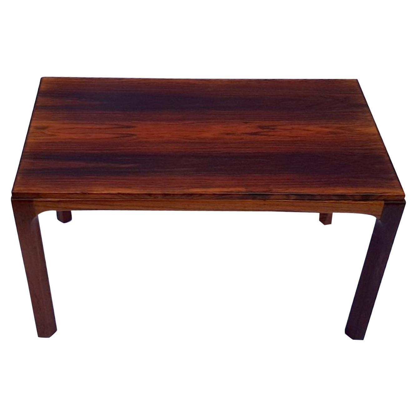 Kai Kristiansen for Aksel Kjersgaard Rosewood Side Table No. 381, Danish, 1950s