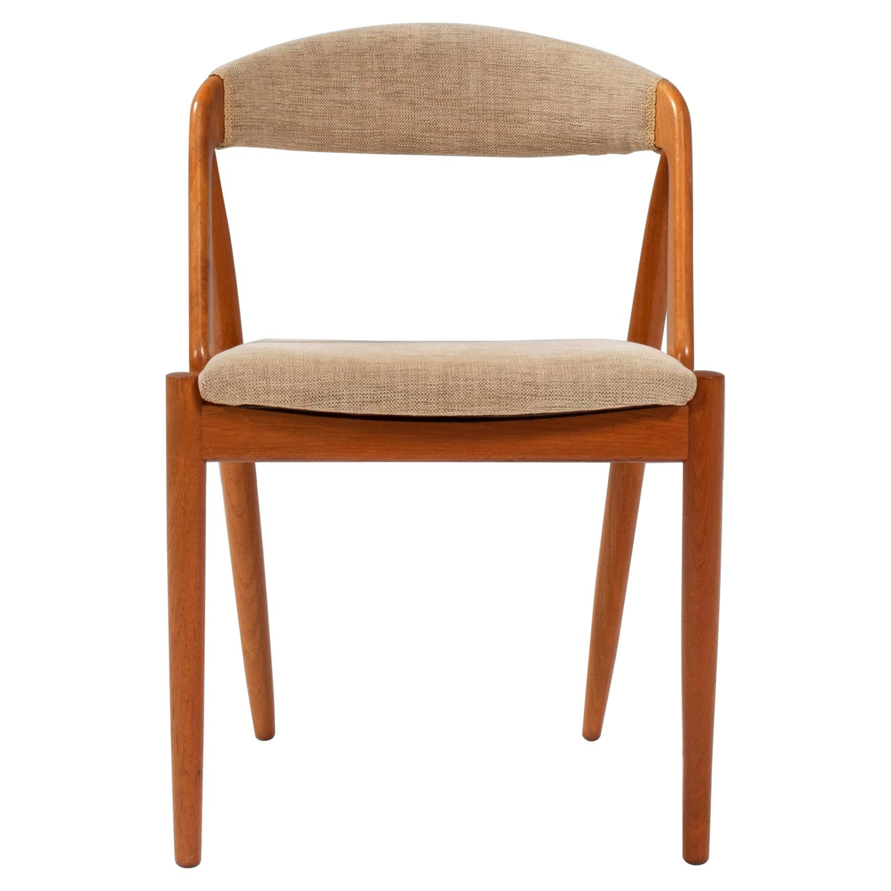 1960's Kai Kristiansen for Schou Andersen Model 31 Dining Chair
