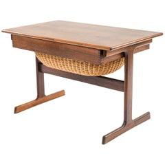 Kai Kristiansen for Vildbjerg Mobelfabrik Rosewood Sewing Table