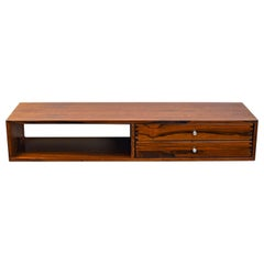 Kai Kristiansen Large Wall Console °132 in Rosewood